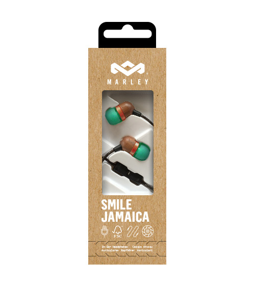 House of Marley Smile Jamaica earbuds