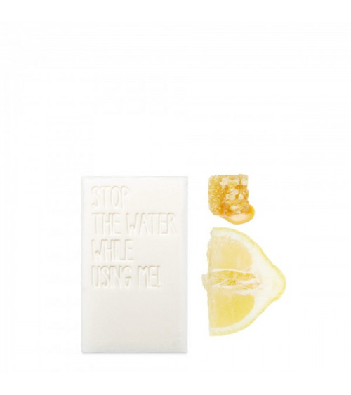 Stop The Water While Using Me Lemon Honey Bar Soap