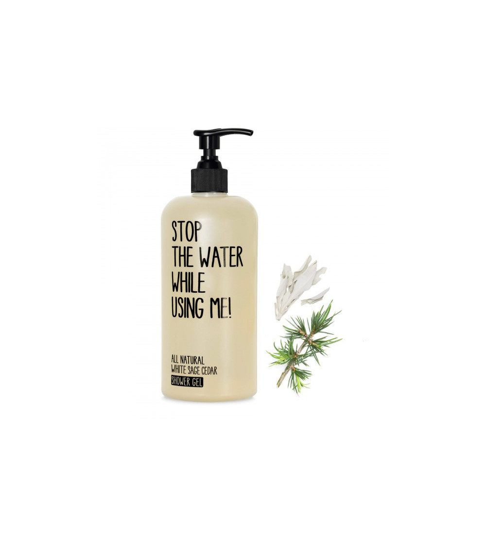 Stop The Water While Using Me White Sage Cedar Shower Gel