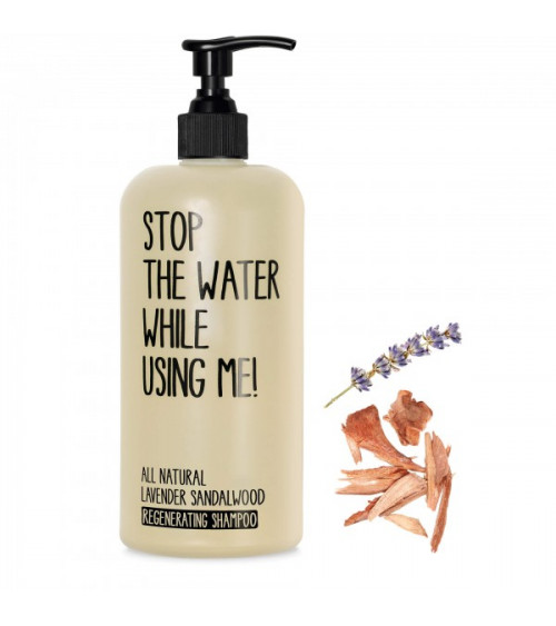 Stop The Water While Using Me Lavender Sandalwood Shampoo