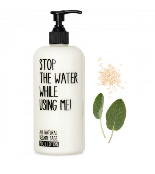Stop The Water While Using Me Sesame Sage Body Lotion
