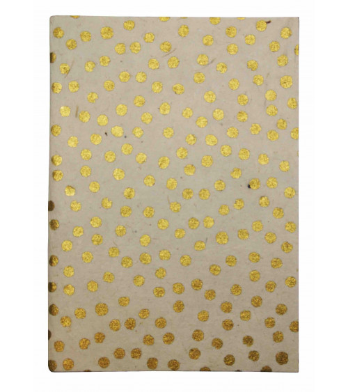 Return to Sender Notebook A5 with gold dots