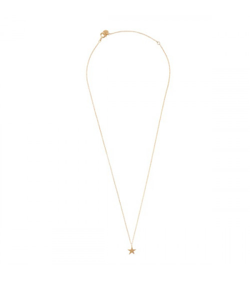 A Beautiful Story Delicate Star sterling silver gold-plated necklace