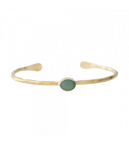 A Beautiful story Moonlight Aventurine Gold bracelet