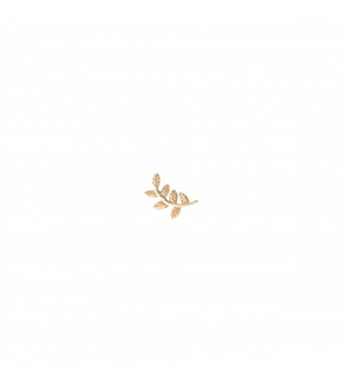 A Beautiful story Branch Sterling Silver Gold-Plated Earring