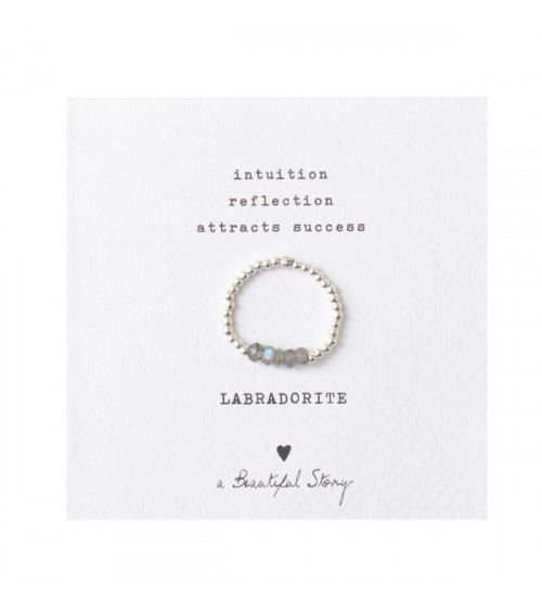 A Beautiful Story Beauty Labradorite silver ring