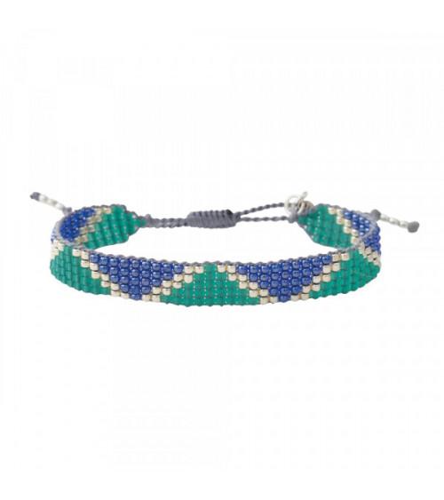 A Beautiful Story Flare Lapis Lazuli silver bracelet