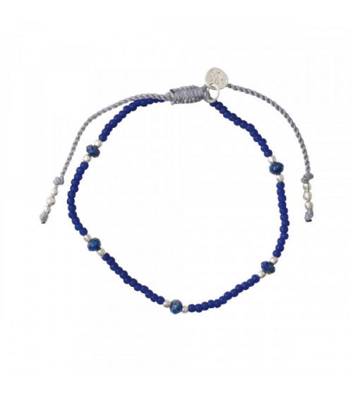 A Beautiful story Friendly Lapis Lazuli Silver bracelet