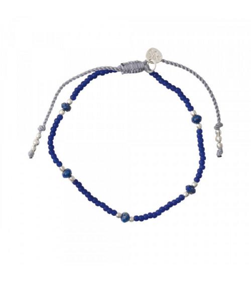 A Beautiful story Friendly Lapis Lazuli Silver bracelet
