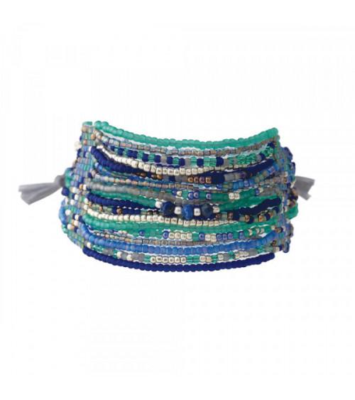 A Beautiful Story Brilliant Lapis Lazuli silver bracelet