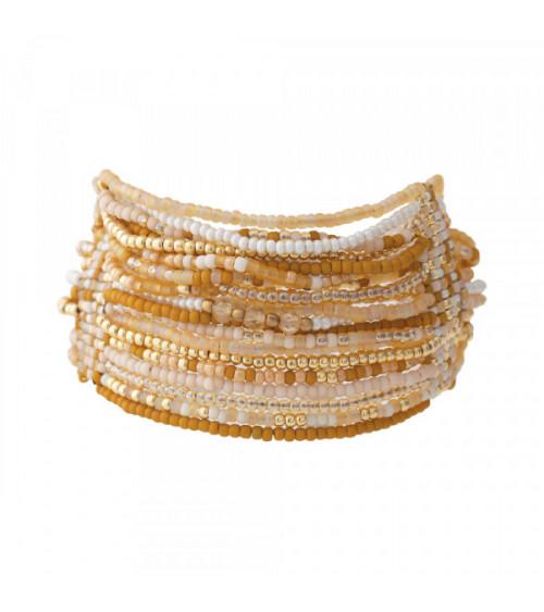 A Beautiful Story Brilliant Citrien goud armband