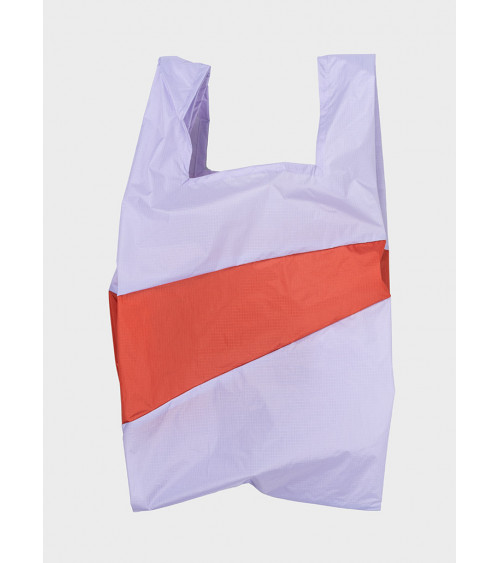 Susan Bijl Shoppingbag Lavender & Rust