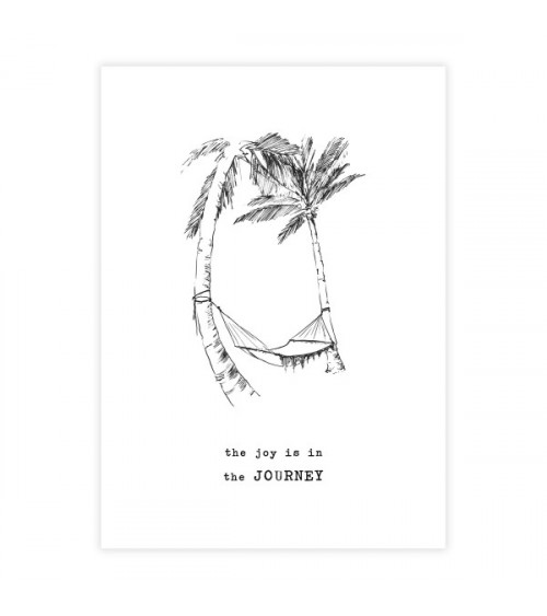 A Beautiful Story Greeting Card Palmtrees