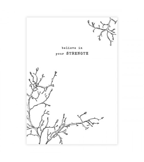 A Beautiful Story Greeting Card Branch