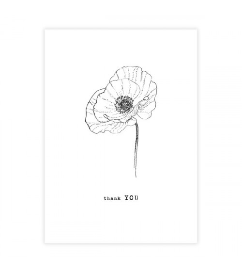 A Beautiful Story Greeting Card Poppy