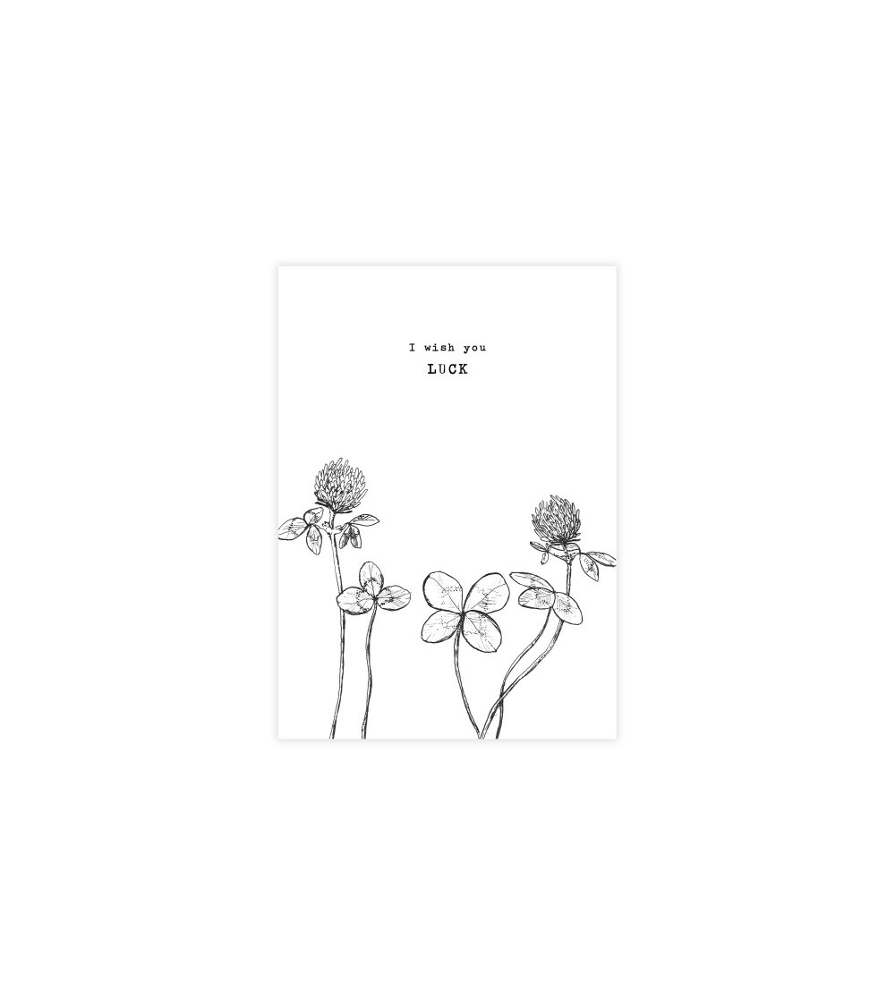 A Beautiful Story Greeting Card Luck