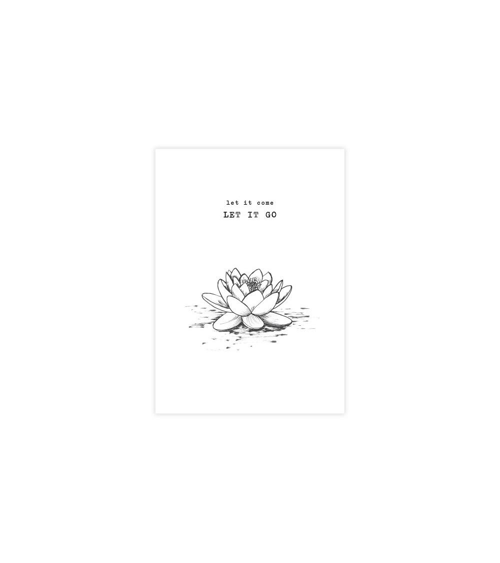 A Beautiful Story Greeting Card Lotus