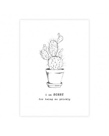 A Beautiful Story Greeting Card Cactus