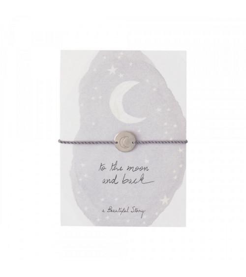 A Beautiful Story Jewelry Postcard Moon