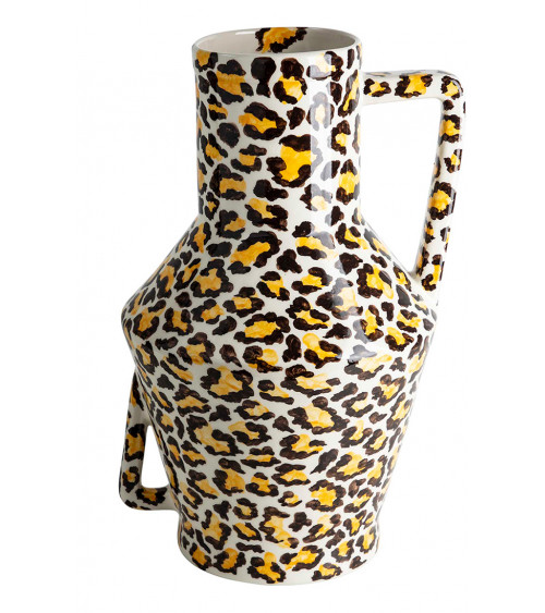 Return to sender Vase Leopard