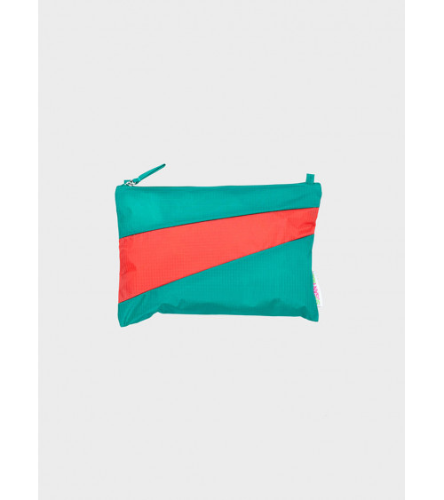 Susan Bijl Pouch Seaweed & Red Alert M
