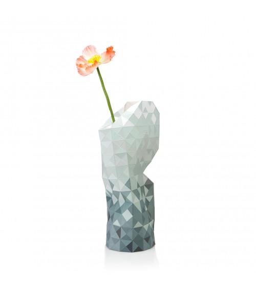 Tiny Miracles Vase Grey Gradient