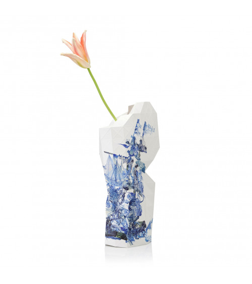 Tiny Miracles Vase Delft Blue Icons