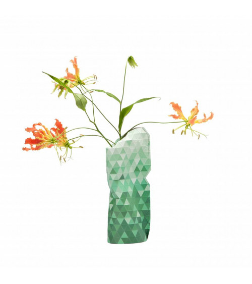 Tiny Miracles Vase Green Gradient Small