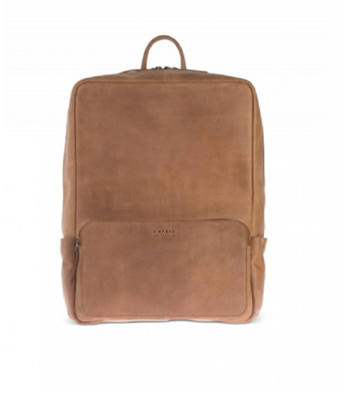 O My Bag John Backpack Maxi Camel Hunter