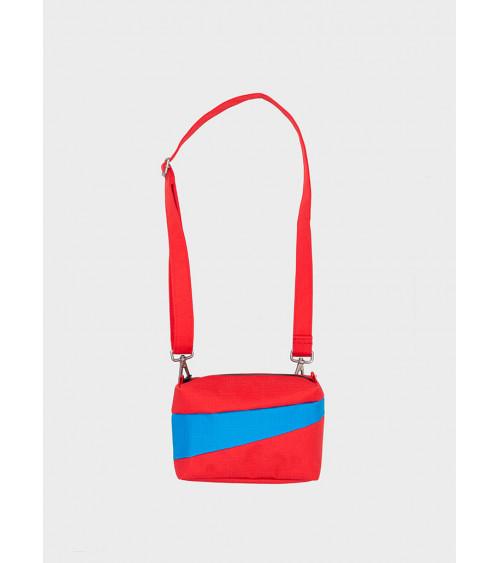 Susan Bijl Bum Bag Redlight & Sky Blue S