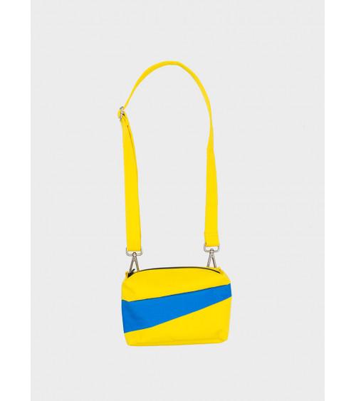 Susan Bijl Bum Bag TV Yellow & Blueback S