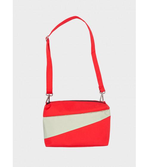 Susan Bijl Bum Bag Redlight & Pistachio M