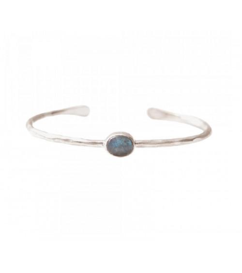A Beautiful Story Moonlight Labradoriet zilver armband