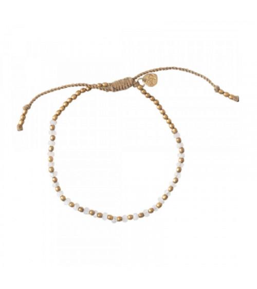 A Beautiful Story Beautiful Moonstone gold bracelet