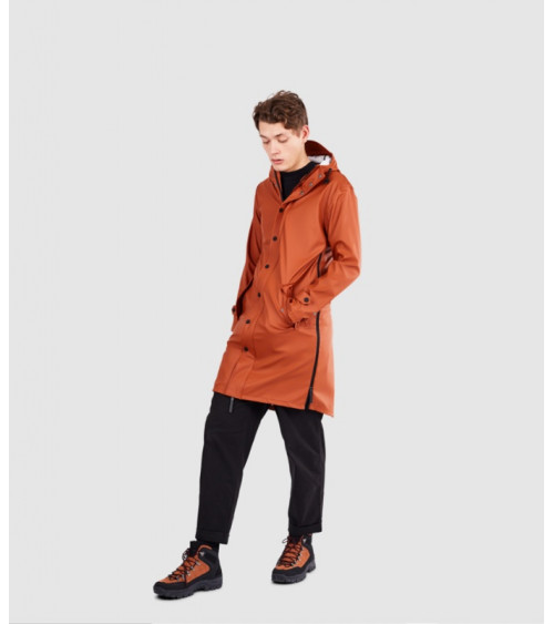Maium Raincoat Ginger Brown
