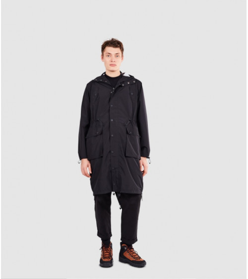 Maium Raincoat Lightweight Black