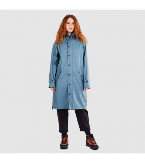 Maium Raincoat Blue Grey