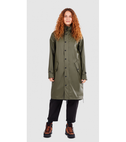 Maium Raincoat Army Green