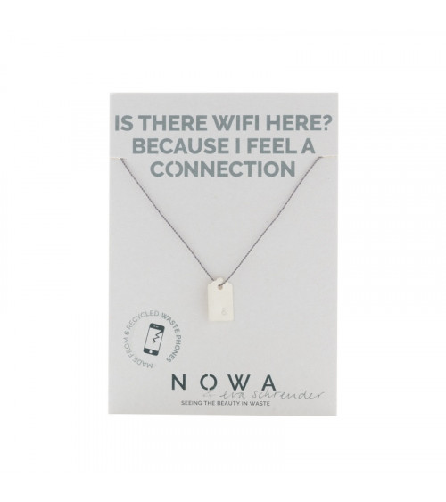 Nowa Ketting Verbinding Etiquette – 100% recycled zilver