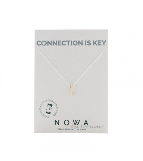 Nowa Key To Your Heart – 100% recycled gold plated