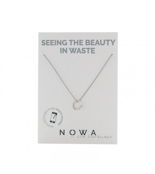 Nowa Circulaire Hanger -100% recycled zilver
