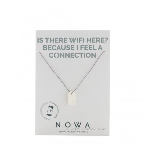 Nowa Connection (&) Etiquette Zilver - Ketting