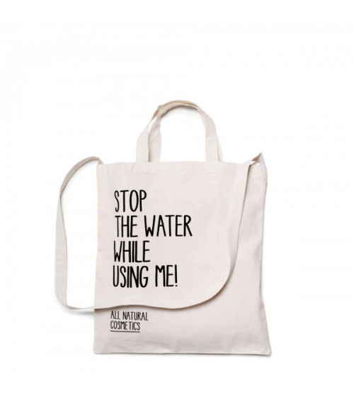 Stop The Water While Using Me Canvas Tas