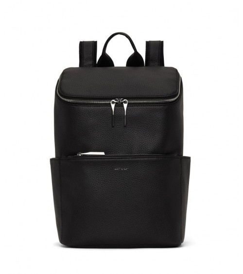 Matt & Nat Brave Purity Black Backpack