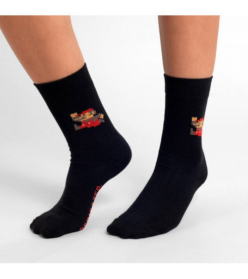 Dedicated Socks Sigtuna Super Mario