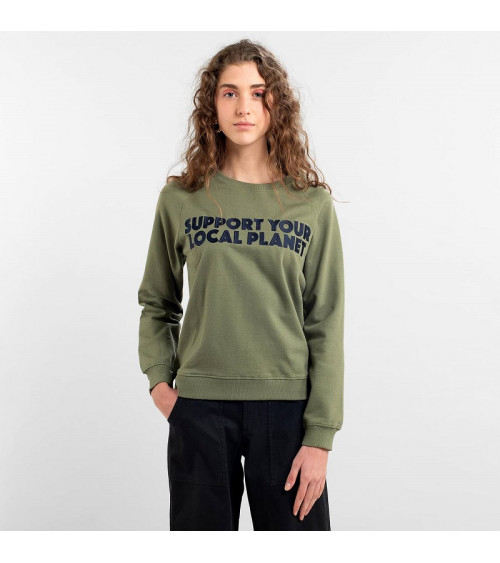 Dedicated Sweatshirt Ystad Raglan Bold Support