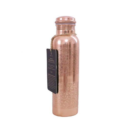 Forrest & Love Engraved Copper Water Bottle