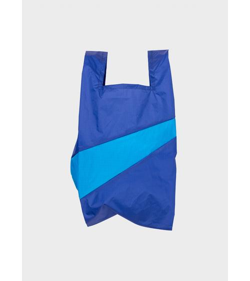 Susan Bijl Shoppingbag Electric Blue & Sky Blue