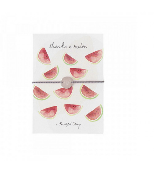A Beautiful Story Jewelry Postcard Melon