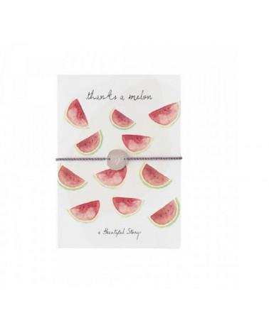 A Beautiful Story Jewelry Postcard Melon